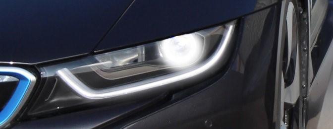 نور لیزر برای لامپ های خودرو