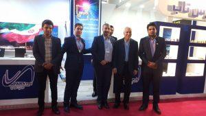بازدید جناب اقای حسین اسفهبدی معاون وزیر صنعت معدن و تجارت از غرفه پارس تاب